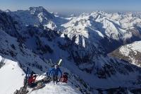 Écarter les skis