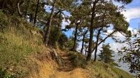 Cheminant vers Fort La Latte
