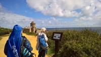 Fort La Latte en vue