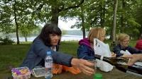 Le pique-nique au bord du lac