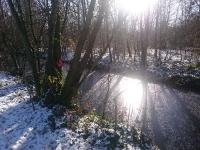 reflets d'hiver à Vincennes