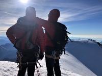 Amitiés au sommet du Weissmies