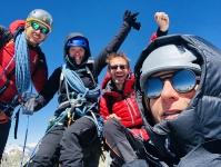 Happy au sommet du Lagginhorn