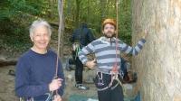 Monsieur reprend l'escalade : est-il aussi tendu que la corde ?
