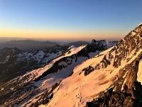 Sunrise au Lagginhorn