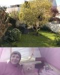 Dans mon jardin confiné, il y a...